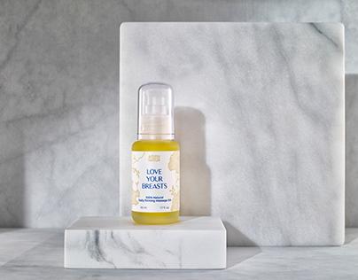 Body oil packagins