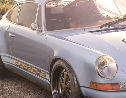 3D Porsche Singer
