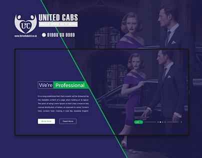 United Cabs Website Design