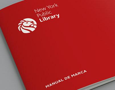 New York Public Library Manual de Marca // Redesign
