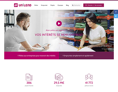 Unilend Website
