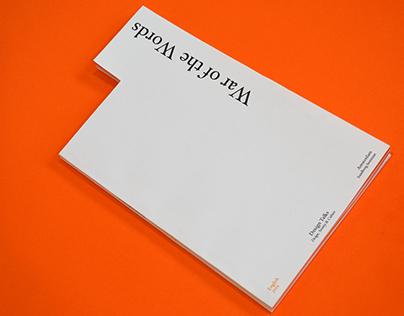 War of the Words Design Talks  Amsterdam 2016