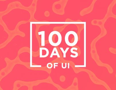 100 Days of UI - Set 01