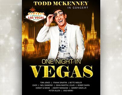 One Night In Vegas - Poster Design