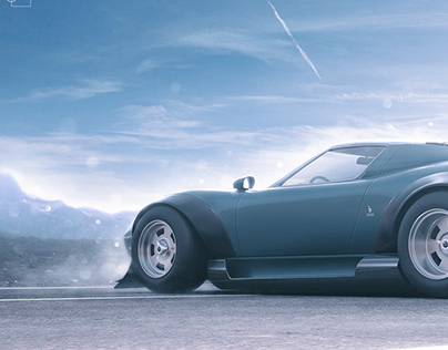 Automotive CGI: Lamborghini Miura