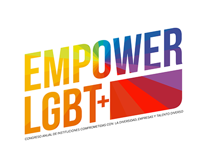 Branding for annual Mexican LGBT+ business conference
