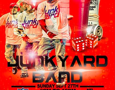 Junkyard Lounge Sixty Six Flyer