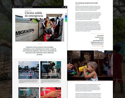 Cúcuta: salida de emergencia