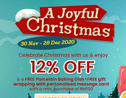 ONESHOP X Maybank A Joyful Christmas