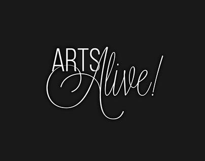 Arts Alive! Logo Concepts