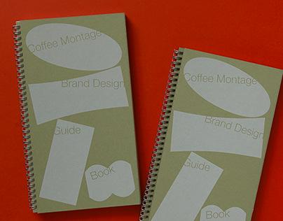 coffee montage brand design guide book