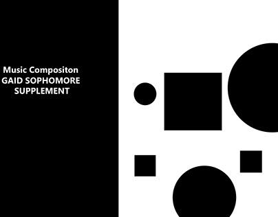 Music Composition: GAID Sophomore Supplement