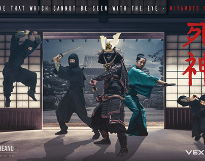 SHINIGAMI SAMURAI Movie Poster Photoshop Manipulation