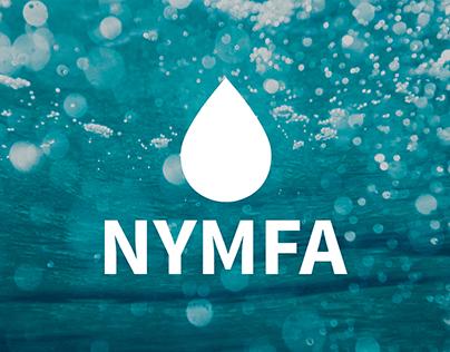 NYMFA BIO // logo & label design