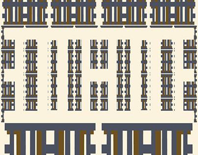 Hebrew Letter Pattern II