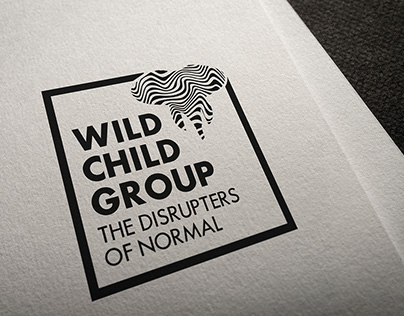 Wild Child Group logo update w/ branded paper system