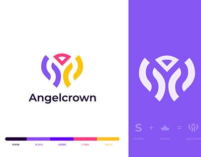 crown logo , S letter logo , S + crown logo
