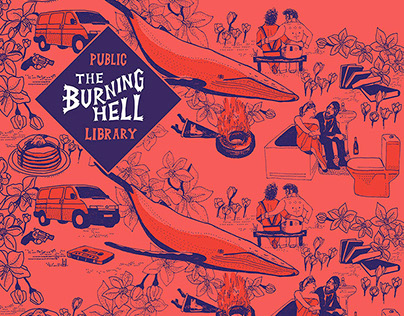 Burning Hell album cover
