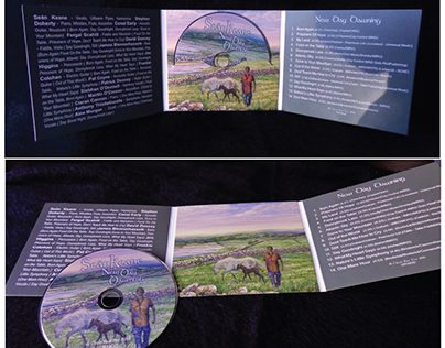 Sean Keane CD Cover Design and LOGO