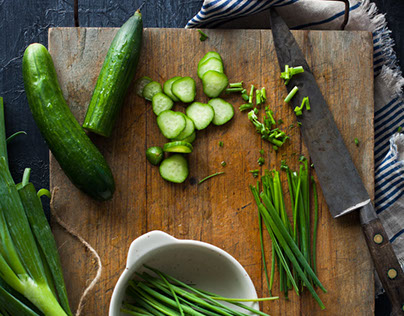 FOOD: Cucumbers & Chives