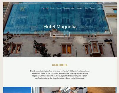 Web Design: Hotel Magnolia