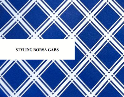 Fashion collage for Gabs bag