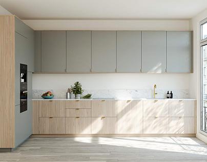 Minimalist Kitchen • 001