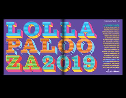 Revista Galera especial Lollapalooza 2019