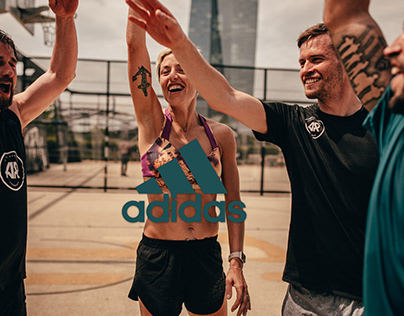 fitness run with adidas runners