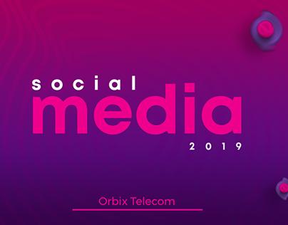 Social Media - Orbix Telecom - 2019