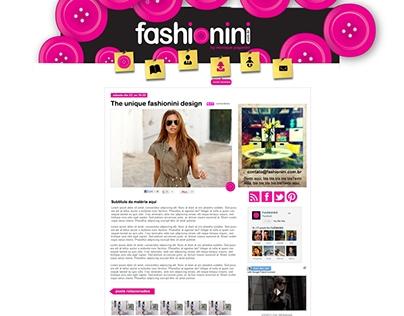 Fashionini - By Monique Paganini
