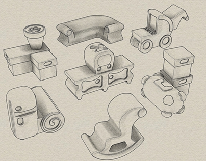 Design and models for a custom puzzle kit