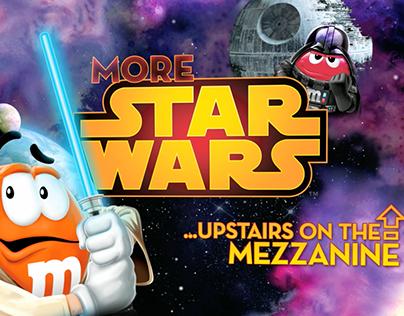 M&M's World Star Wars Shopfinder
