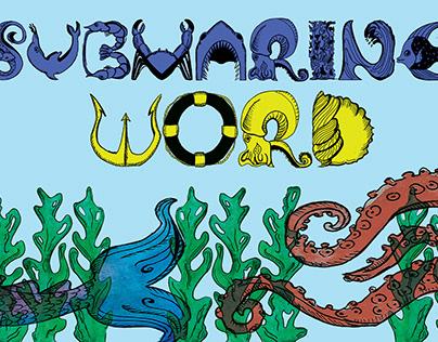 Alfabeto ''SUBMARINE WORD''