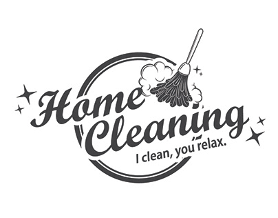 Home Cleaning Logo and Flier