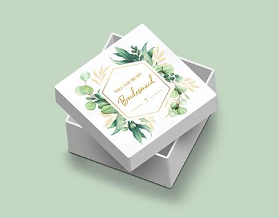 Дизайн подарункової коробки