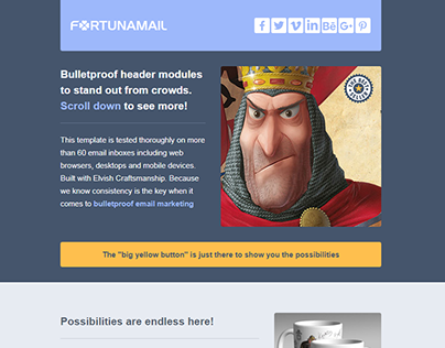 FORTUNA Email Template Pack!