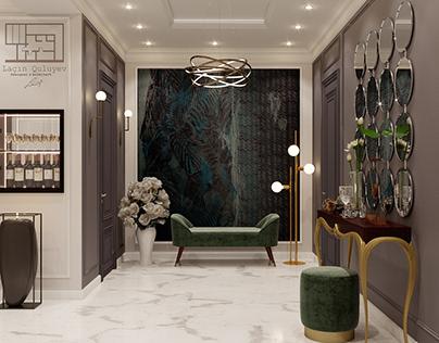 Luxry hall design
