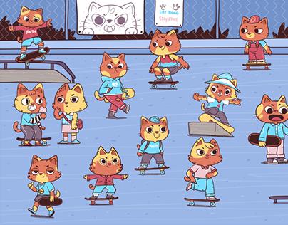 Orange Cats Skate Club