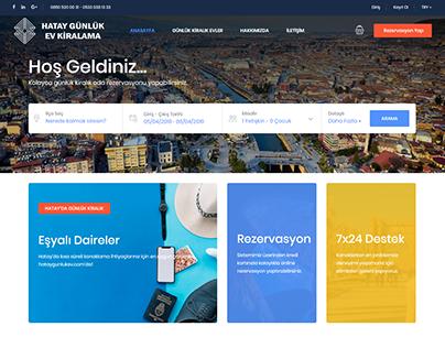 Otel Rezervasyon Web Tasarımı