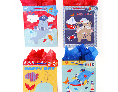 Assorted Gift Bags for 2017