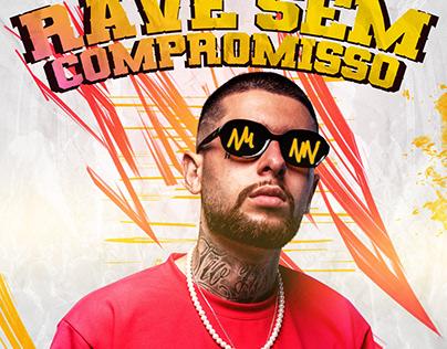 Capa Spotify | MC Hollywood - Rave Sem Compromisso