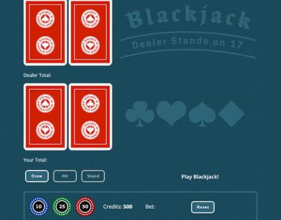 Blackjack Game in JavaScript