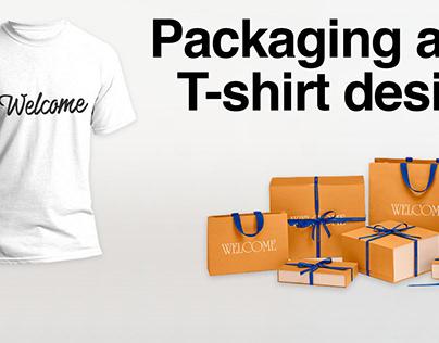 Packaging & T-shirt design
