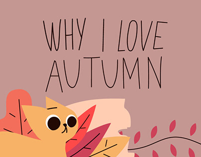 WHY I LOVE AUTUMN