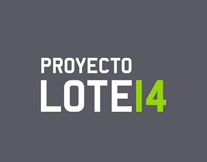 Proyecto Lote 14 unifamiliar