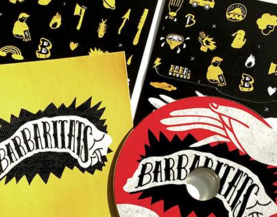 Barbaritats CD Album Artwork