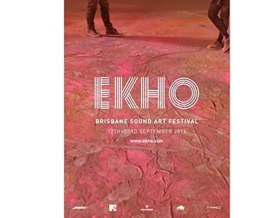 Event Campaign | 'EKHO - Brisbane Sound Art Festival'