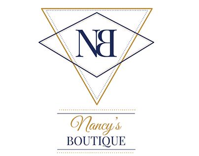 Diseño Logotipo - Nancy's Boutique