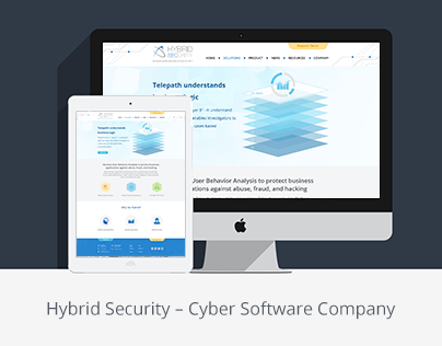 Website Redesign for Hybrid Security